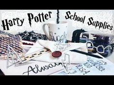 ♦ DIY: Harry Potter inspired shelf, magic books, potions polymer clay tutorial - YouTube