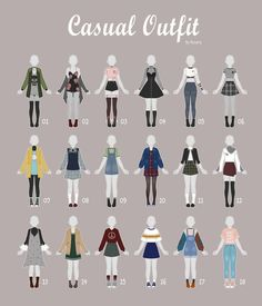 Fashion Drawings Fashion Drawings Fashion Drawings (OPEN CASUAL Outfit Adopts 37 by Rosariy The post Fashion Drawings appeared first on New Ideas.