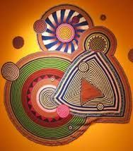 Resultado de imagen para Free form crochet - this is what I'd like to recreate for my Hundertwasser piece! Freeform Crochet, Crochet Doilies, Crochet Stitches, Crochet Patterns, Crochet Wall Art, Crochet Home, Knit Crochet, Fibre Textile, Textile Art