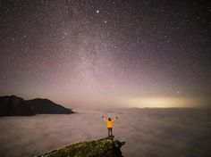 "I Feel like Ive been dropped into another universe High above the ocean of clouds at the top of the Mountains  - @gfunk_  Shot on a EOS 6D Mark II ISO 4000 | f/1.4 | 10""  Tag your #night shots @canonaustralia or #canonaustralia for a chance to be featured.  via Canon on Instagram - #photographer #photography #photo #instapic #instagram #photofreak #photolover #nikon #canon #leica #hasselblad #polaroid #shutterbug #camera #dslr #visualarts #inspiration #artistic #creative #creativity"