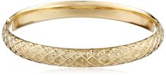 14k Yellow Gold Engraved Bangle Bracelet (8mm ) -- Find out more about the great product at the image link. (This is an affiliate link and I receive a commission for the sales)