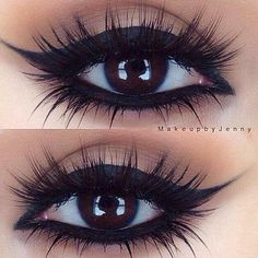 These lashes tho @makeupbyjenny