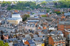 The trip started in Namur, Belgium, where Emmanuel's founding order, the Sisters of Notre Dame de Namur, is headquartered.