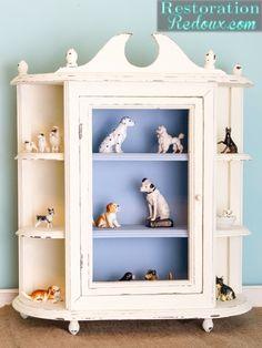 $3 Yard Sale Cabinet Makeover - Restoration Redoux http://www.restorationredoux.com/?p=9156