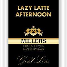 Lazy Latte Afternoon Millers Juice Goldline