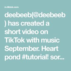 deebeeb(@deebeeb) has created a short video on TikTok with music September. Heart pond #tutorial! sorry if it's a bit fast lol  ♡ #animalcrossing #acnh #animalcrossingnewhorizons  #newhorizons