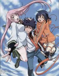 Air Gear - I love a sports based anime and this one is a fun mix of action and mental characters.