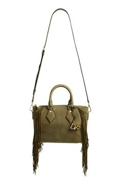 Diane von Furstenberg 'Voyage Boho' Fringe Satchel available at #Nordstrom