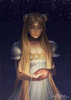 Not a huge sailor moon fan but this is very pretty