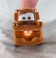 Rare Disney Pixar Cars Tow Mater Light Up Keychain Great Condition #Disney