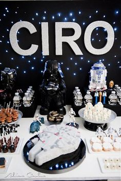 Star Wars Birthday - Would be awesome for Brian's 40th!
