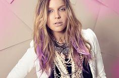 Pastel Purple Hair Streaks for my birthday? Purple Streaks, Hair Streaks, Purple Ombre, Purple Hair, Purple Tips, Pastel Purple, Pretty Pastel, Plum Hair, Pastel Colors