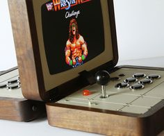 battlecade love hulten is a conceptual arcade console for two players, influenced by classic board games like 'battleship' and 'duke nukem'. Arcade Console, Bartop Arcade, Retro Videos, Retro Video Games, Battleship Board, Consoles, Retro Nes, Retro Arcade, Solitaire Cards
