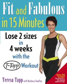 Review of the book Fit and Fabulous in 15 Minutes, with the #TTapp #Workout