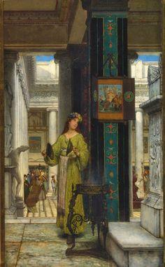 TICMUSart: In the Temple - Lawrence Alma-Tadema (1871) (I. M.)