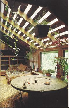 barn converted into living space - from book published in 1984