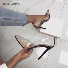 Studded Heels, High Heels Stilettos, Women's Pumps, Stiletto Heels, Shoes Heels, Cute Shoes, Me Too Shoes, Talons Sexy, Super High Heels