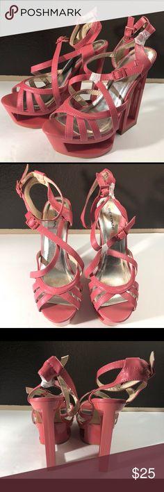 aea290cb93d7 Women s Bertinni Coral Heels size 9