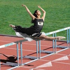 Now that's a hurdle!