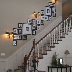 BLACK ( 1 inch )Perfect Picturewall Gallery frame set w hanging templates Stairway Decorating black Frame Gallery Hanging inch Perfect Picturewall Set Templates Stairway Picture Wall, Stairway Pictures, Gallery Wall Staircase, Stairway Photo Gallery, Stair Gallery, Decorating Stairway Walls, Staircase Wall Decor, Staircase Design, Stair Photo Walls