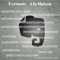 evernote utilisé à la maison http://productivyou.com/evernote-utiliser-maison/