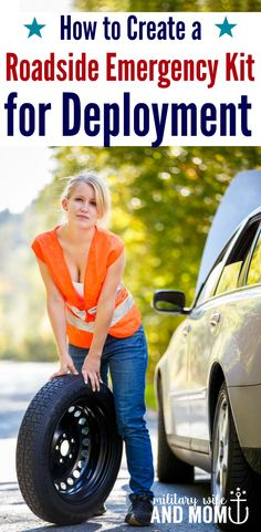 Step-by-step guide for everything you need in a roadside emergency kit. Perfect for military spouses going through a deployment. Military deployment tips. Military wife. Military girlfriend. Military significant other. via @lauren9098