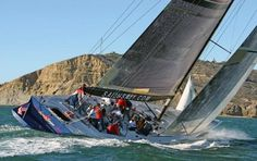 Sailing aboard the Stars and Stripes Race Yacht in San Diego, CA