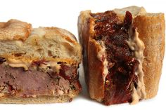 Think your meatloaf days are done for the rest of the week after dinner is over? Leftovers call for a mighty meat sandwich with smoky chipotle mayo and sun-dried tomatoes. It's the way leftover meatloaf sandwiches are done. Types Of Sandwiches, Wrap Sandwiches, Meatloaf Sandwich, Meat Sandwich, Meat Loaf, Sandwich Fillings, Sandwich Shops, Sandwich Recipes, Picnic Recipes