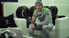 A Lap Of Valencia With Andrea Dovizioso In A Lamborghini (VIDEO)
