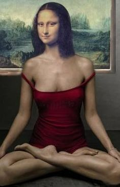 mona lisa pin up