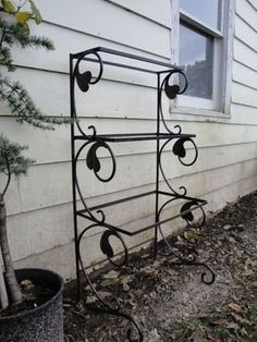 107 Best Pot Stands Wrought Iron Images Metal Art Wrought Iron