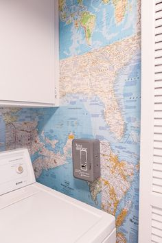 map wallpaper tutorial