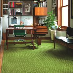 FLOR carpet tiles - we'd need a different color but i like the texture