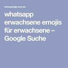 whatsapp erwachsene emojis für erwachsene – Google Suche
