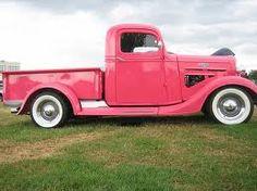 pink vintage truck #truck #vintage #pink www.crcint.com                                                                                                                                                     More
