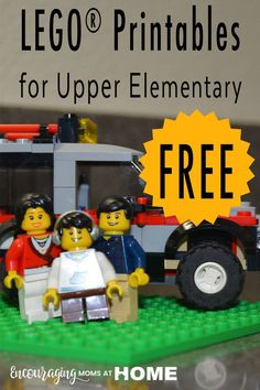 Free LEGO Printables for Upper Elementary Kids and Middle School too!