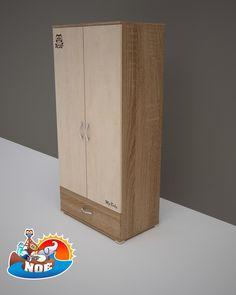 NOÉ – 2 ajtós 1 fiókos szekrény  #szekrény #gyerekszekrény #babaszekrény