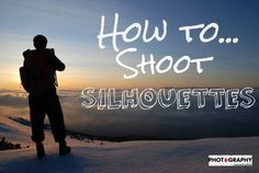 Silhouettes are a great way to frame and shoot portraits! Just follow these simple tips!