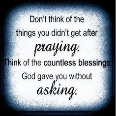 blessings...