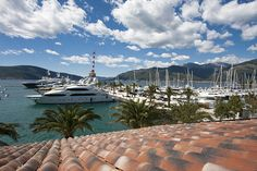 Porto Montenegro Luxury Marina in Tivat