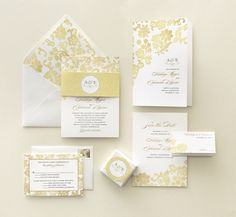 Classic Traditional Wedding Invitation from @Judy Clark Paper Divas
