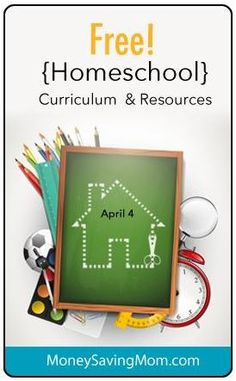 This week's list of HUGE List of Homeschool Curriculum and Freebies! (TONS of Homeschool Freebies!!)