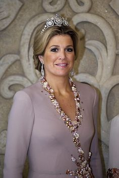 Queen Maxima of The Netherlands. She has a royal elegance about her.
