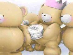Happy birthday teddy bare song - YouTube