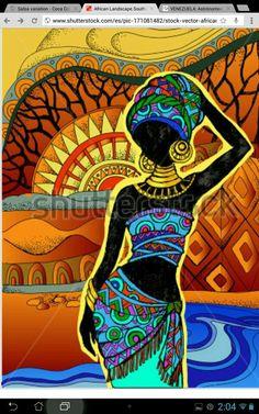 African Art gallery for African Culture artwork, abstract art, contemporary art daily, fine art, paintings for sale and modern art Black Art, Black Women Art, African Art Paintings, African Artwork, Afrique Art, African Quilts, Art Premier, Inspiration Art, Afro Art