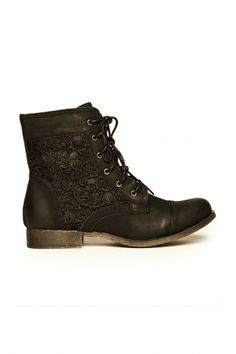 Remie Lace Boot in Black