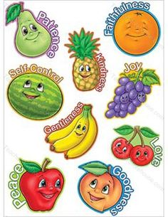 1000 images about fruit of the spirit on pinterest for Fruit of the spirit goodness craft