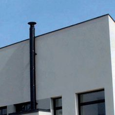 Therminox TI/ZI - Twin wall insulated multi-fuel system chimney by POUJOULAT