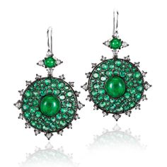 Bull's Eye Earrings - Earrings - Nam Cho - Fine Jewelry