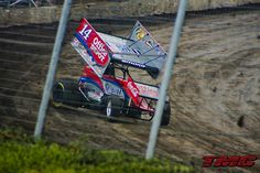 Tony Stewart! aka Smoke Johnson. Love that he races local sprint car shows in between NASCAR stops